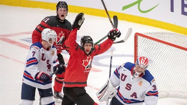 USA Mens Hockey Defeats Canada 5-3 - The Bank